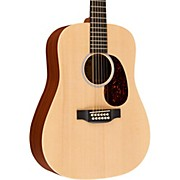 Custom X Series 2015 X1-D12E Dreadnought 12-String Acoustic-Electric Natural Solid Sitka Spruce Top