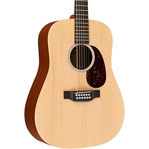 Martin Custom X Series 2015 X1-D12E Dreadnought 12-String Acoustic-Electric Natural Solid Sitka Spruce Top