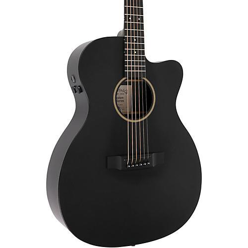 Martin Custom X Series 2016 X-000CE Auditorium Acoustic-Electric Guitar Black