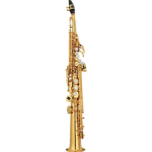 Yamaha Custom YSS-82Z Series Professional Soprano Saxophone with Curved Neck-thumbnail
