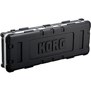 Korg Custom black hard shell case for 61 key Kronos by Korg
