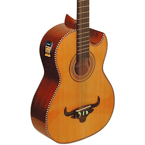 Oscar Schmidt Cutaway Acoustic Electric Bajo Sexto-thumbnail