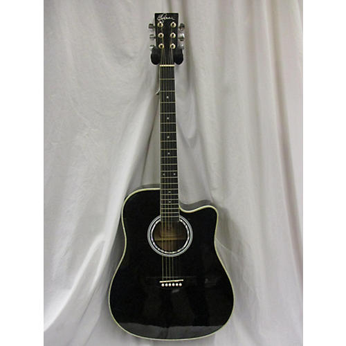 used esteban cutaway acoustic electric guitar guitar center. Black Bedroom Furniture Sets. Home Design Ideas