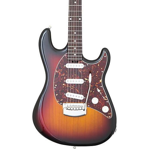 Ernie Ball Music Man Cutlass Trem Rosewood Fingerboard Electric Guitar Vintage Sunburst-thumbnail