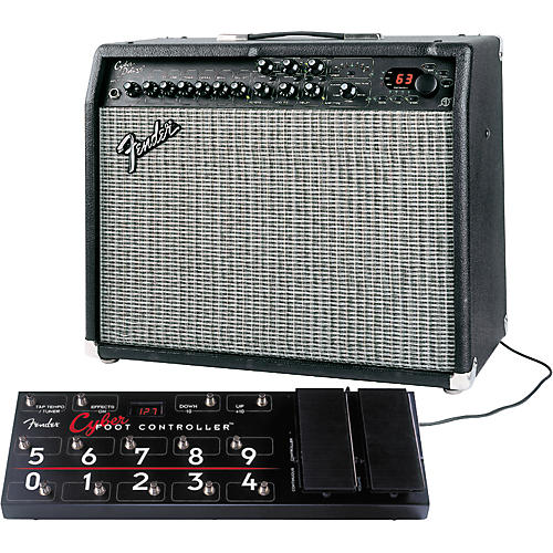Fender Cyber Deluxe and Footcontroller Package
