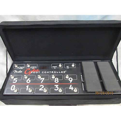Fender Cyber Foot Controller MIDI Foot Controller-thumbnail