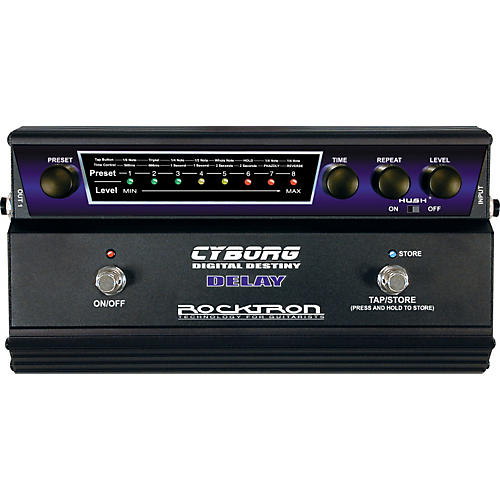 Rocktron Cyborg Digital Delay Guitar Effects Pedal