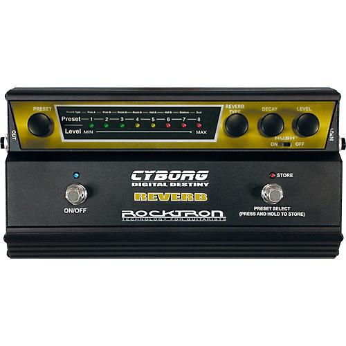 Rocktron Cyborg Digital Reverb Guitar Effects Pedal-thumbnail