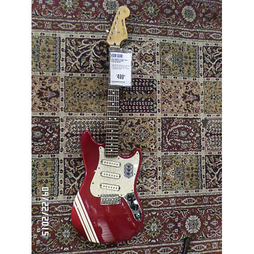 Fender Cyclone Candy Apple Red Solid Body Electric Guitar