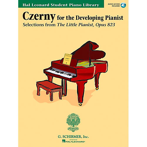 Hal Leonard Czerny - Selections From The Little Pianist Opus 823 Book/CD Hal Leonard Student Piano Library-thumbnail