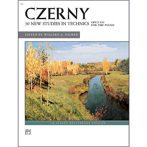 Alfred Czerny 30 New Studies in Technique Op. 849 Advanced Piano-thumbnail