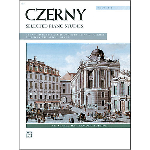 Alfred Czerny Selected Piano Studies Volume 1-thumbnail
