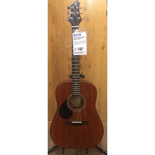 Greg Bennett Design by Samick D-1/lh Acoustic Guitar