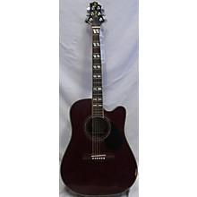 Greg Bennett Design by Samick D-10 CEWR Acoustic Electric Guitar