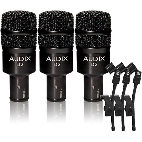 Audix D-2 Dynamic Microphone 3-Pack-thumbnail