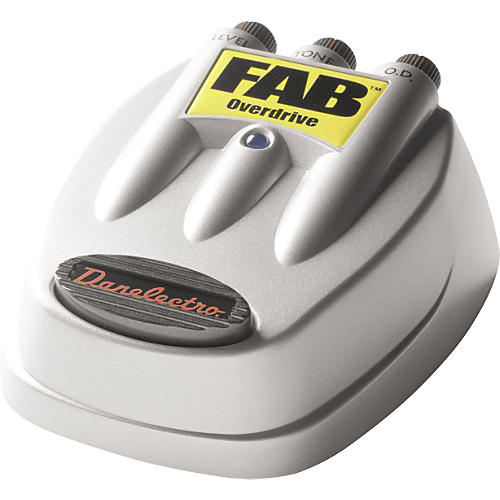 Danelectro D-2 FAB Overdrive Guitar Effects Pedal-thumbnail