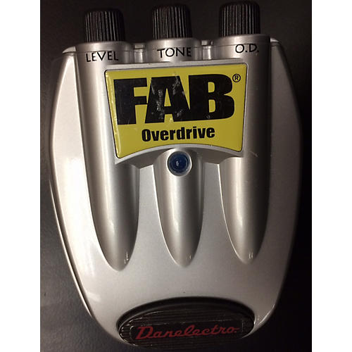 Danelectro D-2 Fab Overdrive Effect Pedal