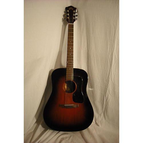 vintage guild d 25 ohsc acoustic guitar 2 color sunburst guitar center. Black Bedroom Furniture Sets. Home Design Ideas