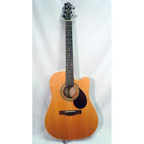 Greg Bennett Design by Samick D-2CE Acoustic Electric Guitar-thumbnail