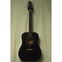 Greg Bennett Design by Samick D-4/TBK Acoustic Guitar