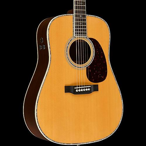 Martin D-45E Retro Series Dreadnought Acoustic-Electric Guitar Natural