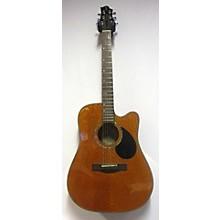 Greg Bennett Design by Samick D-4CE/AN Acoustic Electric Guitar