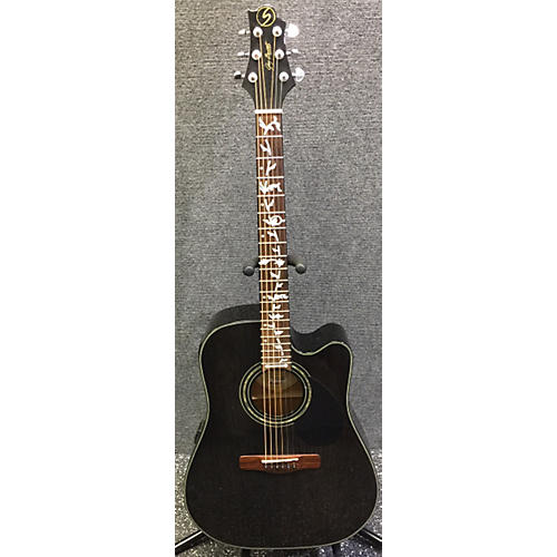 Greg Bennett Design by Samick D-4CE Acoustic Guitar