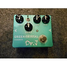 Dr. J Pedals D-50 Green Crystal Overdrive Effect Pedal
