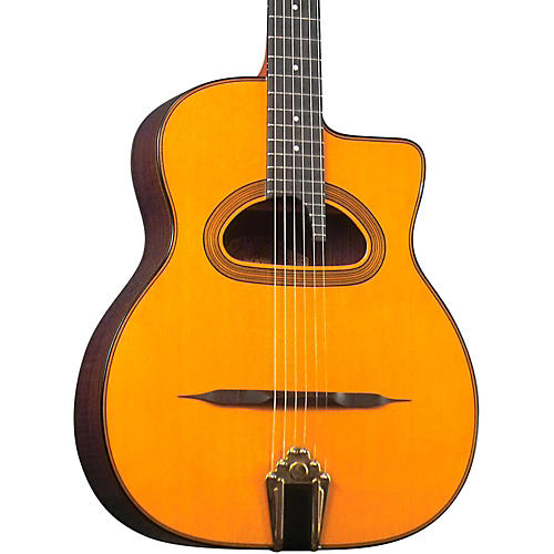 Gitane D-500 Grande Bouche Gypsy Jazz Acoustic Guitar-thumbnail