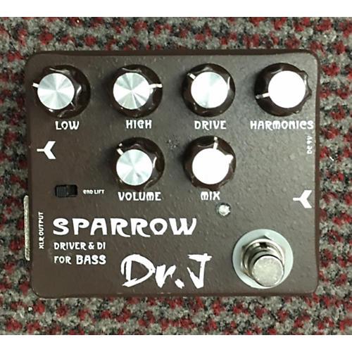 Dr. J Pedals D-53 Sparrow Driver & DI Bass Effect Pedal-thumbnail