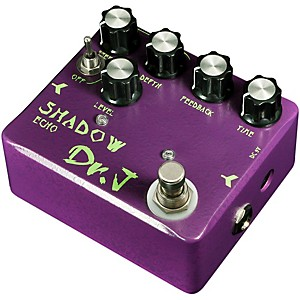 Dr. J Pedals D-54 Shadow Echo Guitar Effects Delay Pedal with True Bypass by Dr. J Pedals