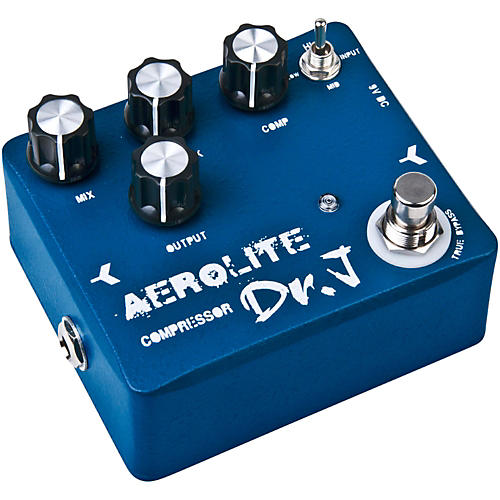 Dr. J Pedals D-55 Aerolite Comp Guitar Effects Compression Pedal with True Bypass-thumbnail