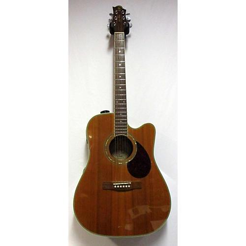 used greg bennett design by samick d 7ce acoustic electric guitar guitar center. Black Bedroom Furniture Sets. Home Design Ideas