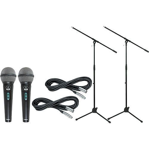 AKG D 8000 with Cable and Stand 2 Pack-thumbnail