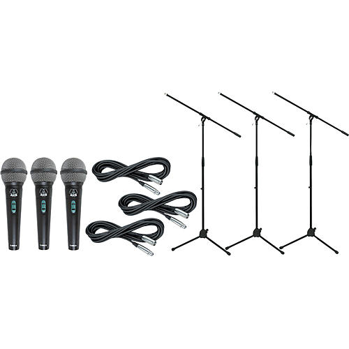 AKG D 8000 with Cable and Stand 3 Pack-thumbnail