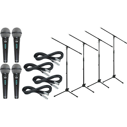 AKG D 8000 with Cable and Stand 4 Pack-thumbnail