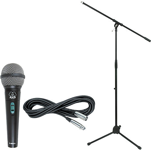 AKG D 8000 with Cable and Stand-thumbnail