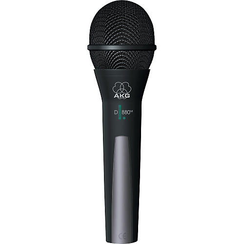 AKG D 880 M Supercardioid Dynamic Microphone with TM40 Wireless Option