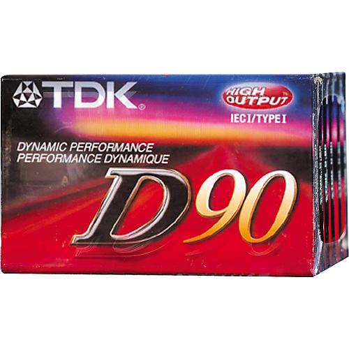 TDK D-90 Cassette 10-Pack-thumbnail