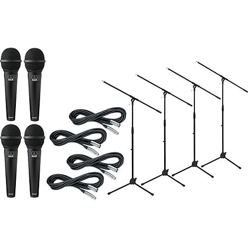 AKG D 9000 with Cable and Stand 4 Pack-thumbnail