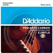 D'Addario D ADDARIO EJ99TLG PRO ARTE CARBON TENOR LOW G UKULELE STRINGS