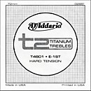 D'Addario T4601 T2 Titanium Hard Single Guitar String (T4601)