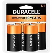 Duracell D Batteries 4-Pack