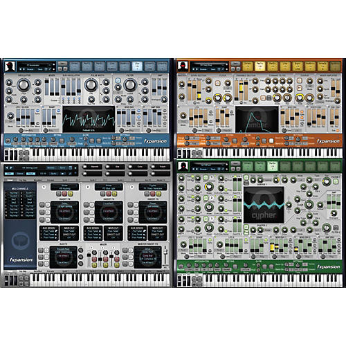 Fxpansion D.CAM Synth Squad System Software Download
