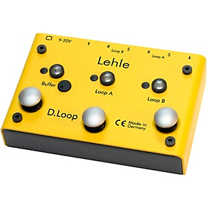 Lehle D.Loop SGoS 2 Channel Guitar Effects Loop Pedal by Lehle