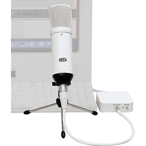 MXL D.R.K. - MAC Desktop Recording Kit White MAC