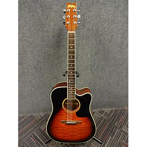 Pre-owned Washburn D10CE OSB Acoustic Electric Guitar by Washburn