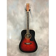 Washburn D10QSB SB Acoustic Guitar