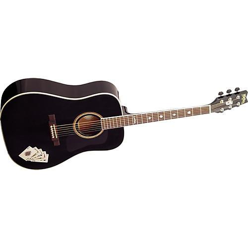 Washburn D10SBPO Dreadnought Acoustic Guitar-thumbnail