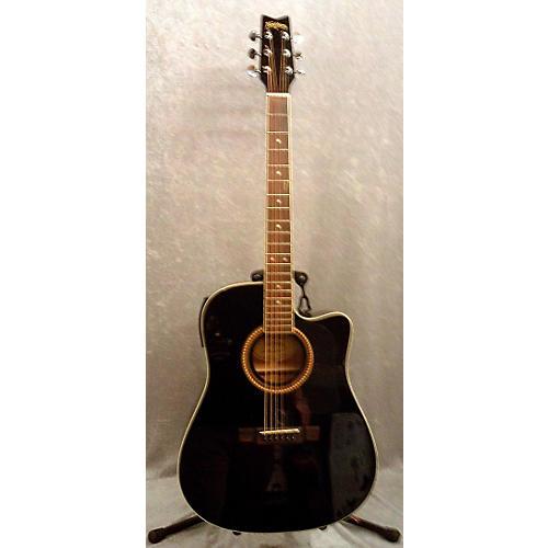 Washburn D10SCE Acoustic Electric Guitar-thumbnail